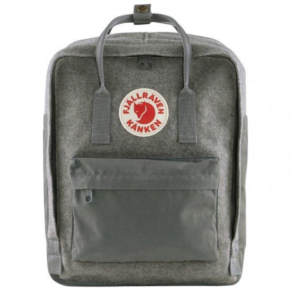 Fjällräven Re-Wool Kanken 23330 granite grey das ORIGINAL Känken Kaenken Tagesrucksack
