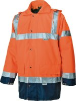 ALBATROS Warnschutz-Parka LUX 272060 signal orange 2in1...