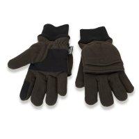 LODENHUT Handschuhe 44501 oliv Fleece-Handschuhe...