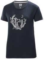 HH Helly Hansen Skog Graphic T-Shirt Women 62877  navy...