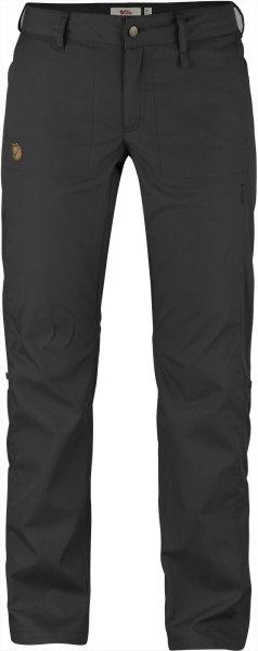 Fjällräven Abisko Shade Trousers 89810  dark grey  G-1000 Air Hose Damenhose