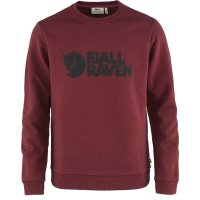 Fjällräven Logo Sweater Sweatshirt  84142  red...